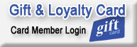 Gift and Loyalty Card Login